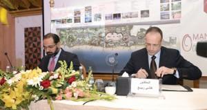 """التوقيع على عقد إنشاء """"واحة عمان"""" بولاية شناص بتكلفة 6 مليارات دولار"""