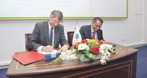 """""""تنمية نفط عمان"""" تبرم عقدا مع """"ميدكوإنرجي"""" لتطوير مشروع حقول كريم الصغيرة في جنوب منطقة الامتياز حتى 2040م"""
