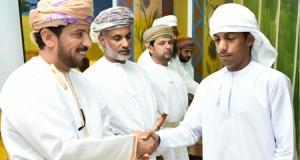 تكريم الفائزين في مسابقة حفظ القرآن الكريم بالوسطى