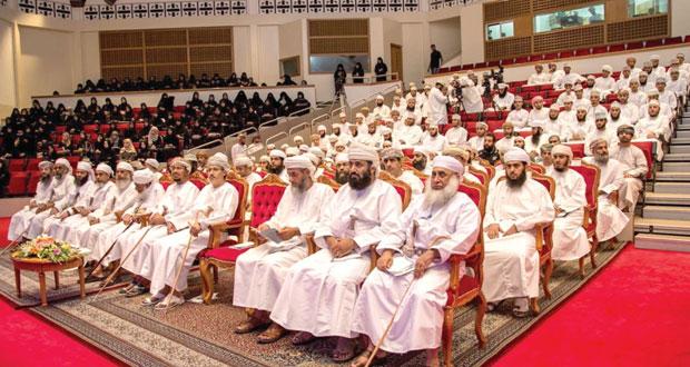 جامعة السلطان قابوس تختتم ندوة مدرسة الشيخ حمود بن حميد الصوافي بين الماضي والحاضر