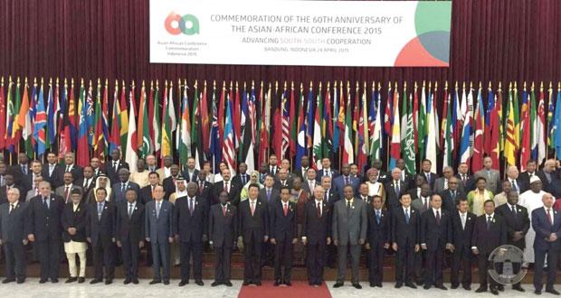 اختتام القمة الآسيوية الأفريقية بأندونيسيا بمشاركة السلطنة