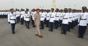 النعماني يرعى احتفال شرطة عمان السلطانية بافتتاح مجمع وحدة شرطة المهام الخاصة بولاية صحار