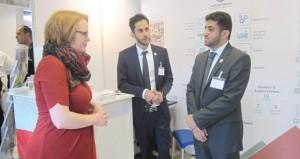جامعة السلطان قابوس تشارك في معرض study world لمؤسسات التعليم العالي في برلين .