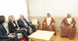 احمد السعيدي والشيبانية يستقبلان وزير التعليم والعلوم الليتواني