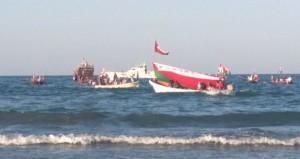 صحار تبتهج بإقامة المهرجان البحري وسباق ركض العرضة للهجن والخيل