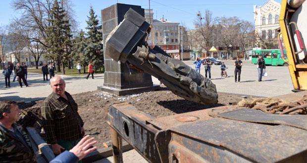 روسيا ترفض حظر (الإرث السوفييتي) في أوكرانيا وتراه محاكمة (ضمير)