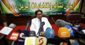 السودان: البشير رئيسا مجددا بـ94,5% بنسبة مشاركة 46,4%