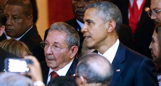 لقاء تاريخي بين أوباما وكاسترو بافتتاح قمة الأميركيتين