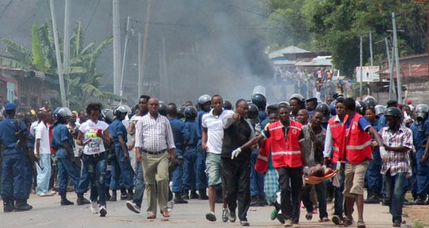 بروندي: صدامات بين متظاهرين والشرطة بعد إعلان الرئيس ترشحه لولاية ثالثة