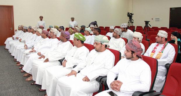 تكريم الفائزين في مسابقة الأندية للإبداع الشبابي على مستوى السلطنة
