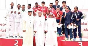 منتخبنا لأم الألعاب يختتم مشاركته فى البطولة الخليجية بحصد 6 ميداليات منوعة