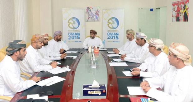 تواصل كافة الجهود لإنجاح استضافة البطولة الآسيوية لكرة اليد الشاطئية