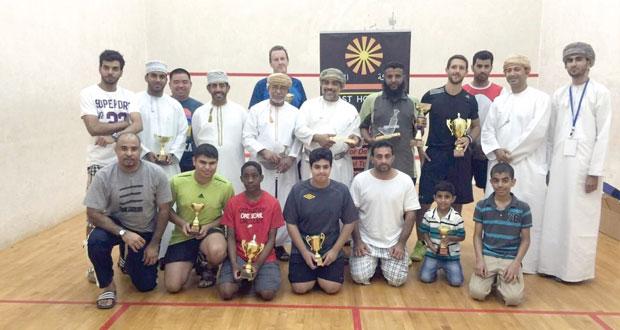 جمال البرواني بطلا لبطولة عمان المفتوحة الأولى للاسكواش