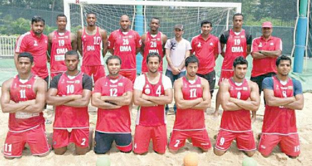بدء العد التنازلي لانطلاق البطولة الآسيوية لكرة اليد الشاطئية