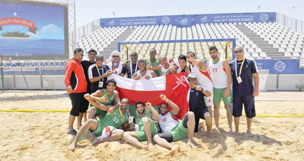 في دورة الألعاب الخليجية الشاطئية بالدوحة..منتخبا الطائرة (أ) و (ب) يتوجان بالميداليات الفضية والبرونزية