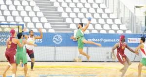 منتخبنا الوطني يلاقي فيتنام في افتتاح البطولة الآسيوية لليد الشاطئية بمسقط