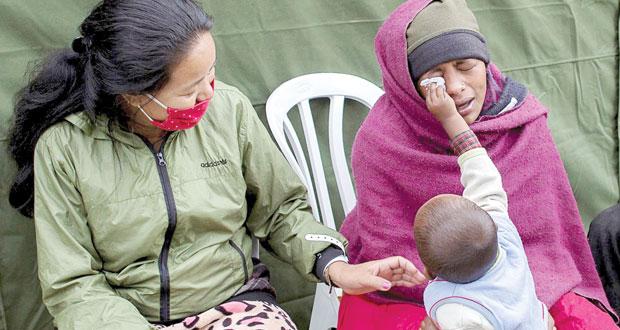 نيبال: الضحايا يتخطون الـ 5 آلاف قتيل