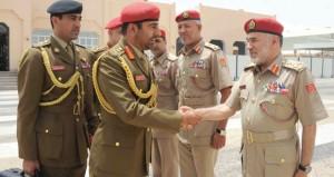 مطر البلوشي يشارك في اجتماع قادة القوات البرية لدول المجلس بقطر