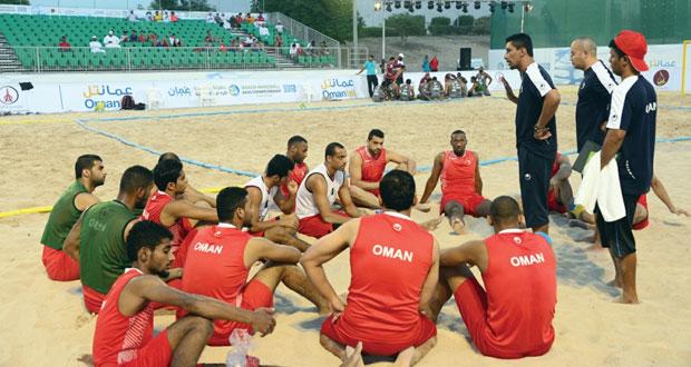 اليوم … منتخبنا الوطنة يدشن البطولة الآسيوية لكرة اليد الشاطئية بلقاء فيتنام