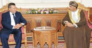 فهد بن محمود يستقبل مبعوث الرئيس الروسي ووزير الدولة السنغافوري للشؤون الداخلية والخارجية