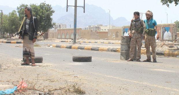 اليمن : حرب شوارع في عدن ومقتل عسكري سعودي على الحدود