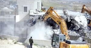 الاحتلال هدم 151 منزلا فلسطينيا وشرد 78 عائلة منذ مطلع العام الجاري