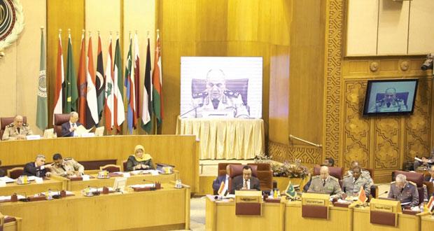 """رؤساء الأركان العرب بمشاركة السلطنة يجتمعون في القاهرة لمناقشة """" القوة العربية المشتركة """""""
