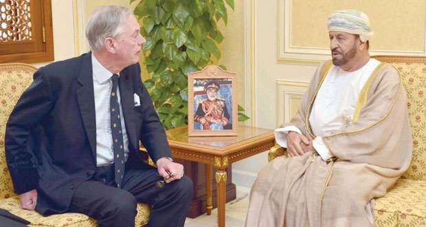 بدر بن سعود والراسبي والنبهاني يستقبلون وكيل وزارة الدفاع البريطانية