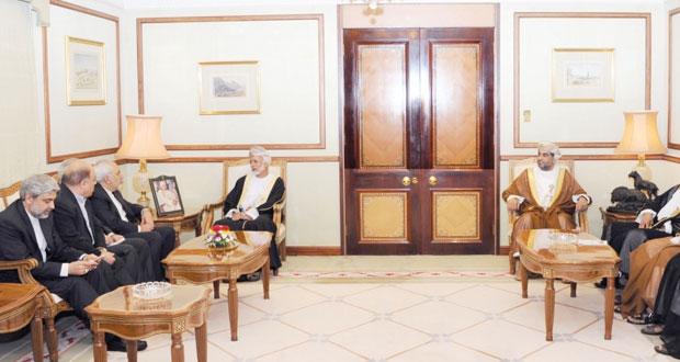جلسة مباحثات رسمية بين السلطنة وإيران