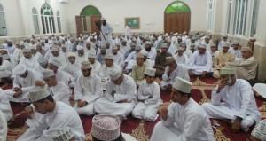 محاضرة دينية بمناسبة ذكرى الإسراء والمعراج بجامع المسفاة بالرستاق