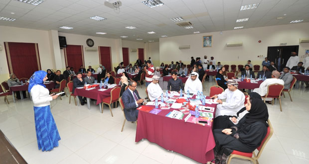 """كلية مجان الجامعية تنظم ندوة استراتيجية """"2015 – 2020″"""
