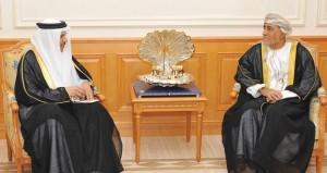 نيابة عن جلالة السلطان شهاب بن طارق يستقبل الأمين العام لمجلس التعاون