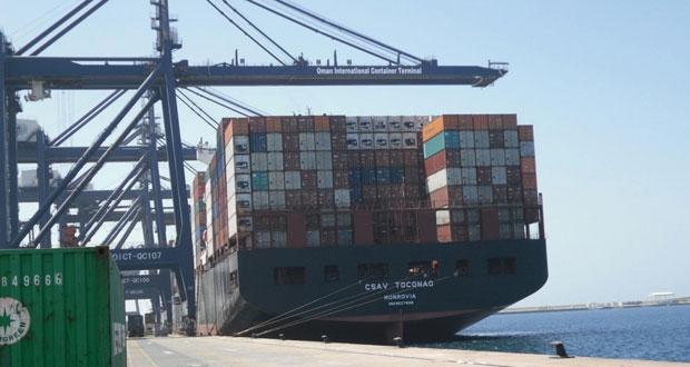 صحار تدشن خطا بحريا مع شرق آسيا .. والمباشر مع بندر عباس يستقبل أول سفينة نقل بحري إيرانية اليوم