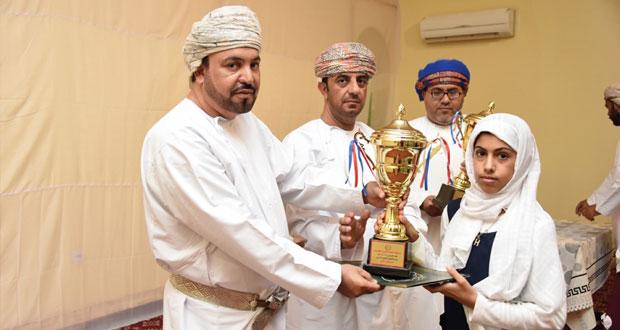 تعليمية جنوب الشرقية تكرّم الفائزين في مسابقة القرآن الكريم