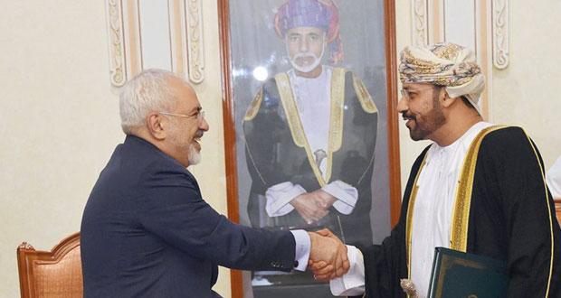 التوقيع على اتفاقية تحديد الحدود البحرية بين السلطنة وإيران في بحر عُمان