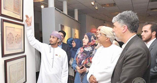 معرض للصور والفن العماني في معرض الفنون بطهران