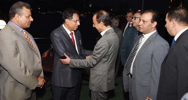 وزير الإعلام يلتقى عدداً من القيادات الإعلامية المصرية