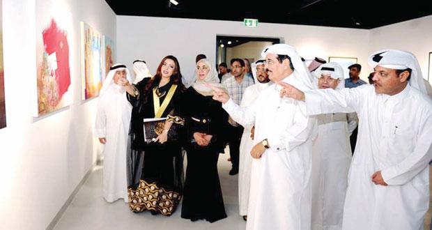 إسدال الستار على فعاليات الملتقى الأول لاتحاد التشكيليين الخليجيين وعرض 60 عملا فنيا وتكريم المشاركين