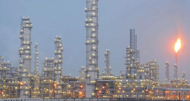 أكثر من 27 مليون برميل إنتاج المصافي والصناعات البترولية بالسلطنة بنهاية أبريل