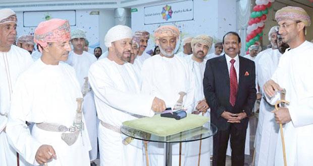 الاحتفال بافتتاح المجمع التجاري العسكري (البندر)