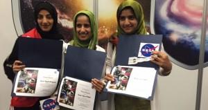 مشروع طلابي يفوز بالجائزة الخاصة في مسابقة انتل للعلوم والهندسة من وكالة ناسا