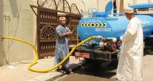 الهيئة العامة للكهرباء والمياه تواصل جهودها لضمان استمرارية خدمة المياه للمشتركين على مدار الساعة
