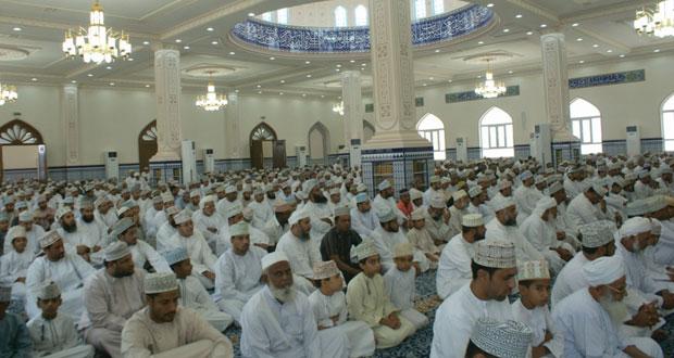 الخليلي يرعى افتتاح جامع جماح بولاية بهلاء