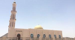 الانتهاء من بناء جامع جماح ببهلاء والذي يتسع لاكثر من ألفي مصل