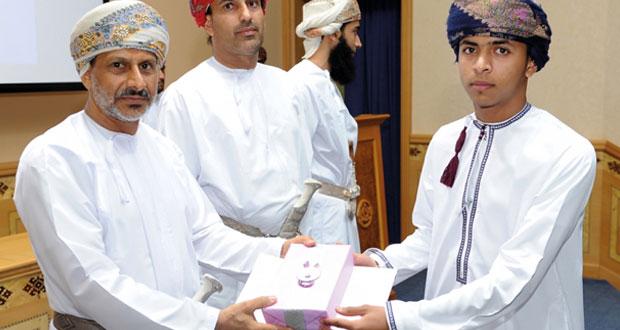 اختتام مسابقة مواهب تكاتف عمان بمعهد السلامة المرورية