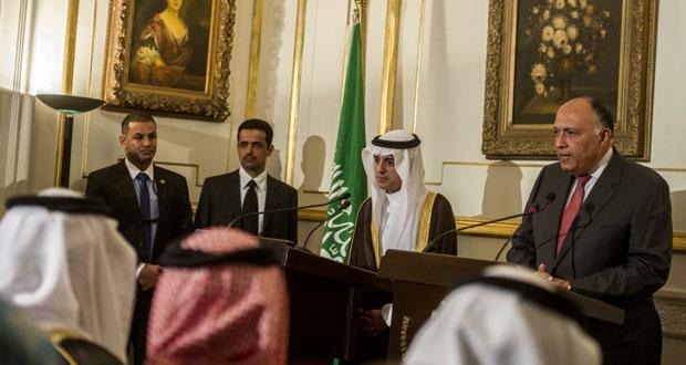 مصر والسعودية تؤكدان على تطابق مواقفهما بخصوص سوريا واليمن