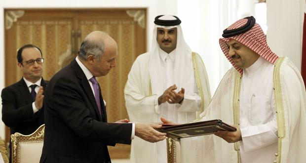 قطر توقع عقدا لشراء 24 (رافال) بقيمة 6.3 مليار يورو
