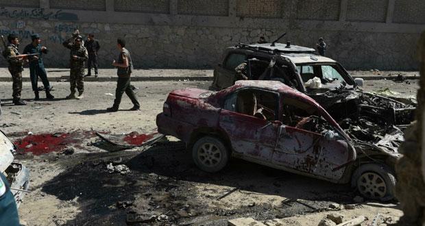أفغانستان: قتلى بينهم أجنبي في (انتحاري) قرب مطار كابول