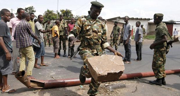 بوروندي: توقيف وملاحقة الانقلابيين والرئيس يعود إلى قصره