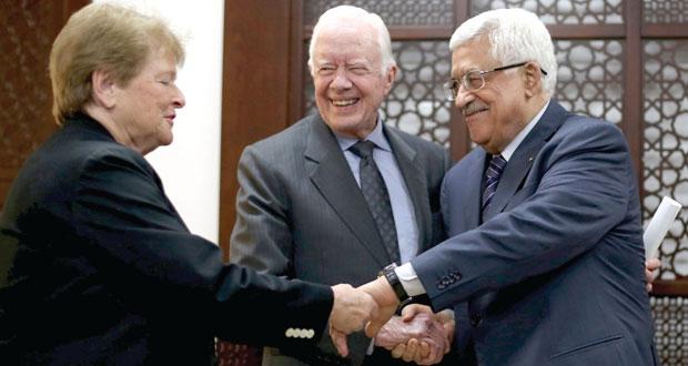 عباس يبحث مع (الحكماء) إعادة الإعمار والانتخابات